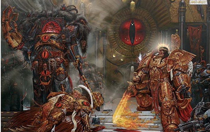 Entering Carcosa Part 3: The Horus Heresy